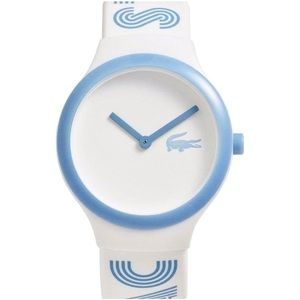 Lacoste Goa Unisex Silicone Blue Strap Watch